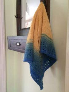 Atwood Shawl Hanging photo